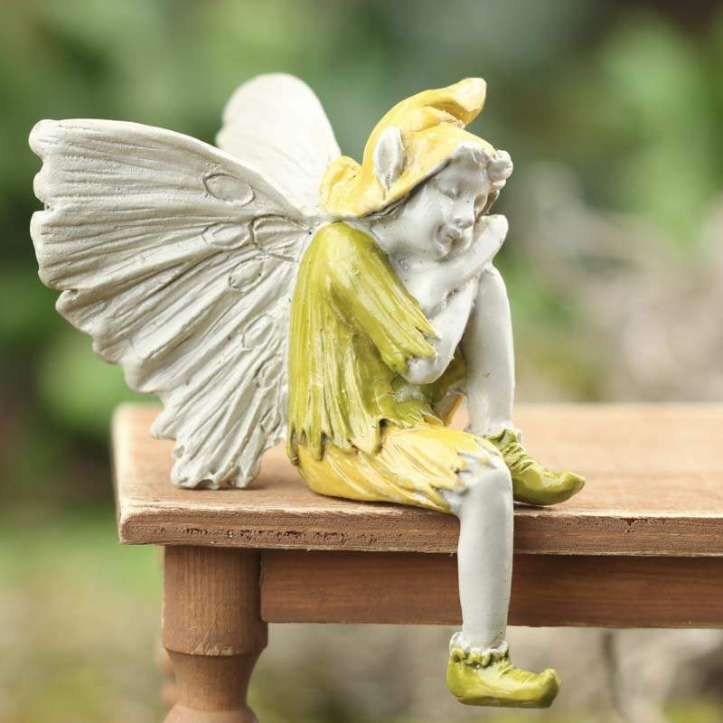 Gnome Garden: Miniature Resting Garden Fairy