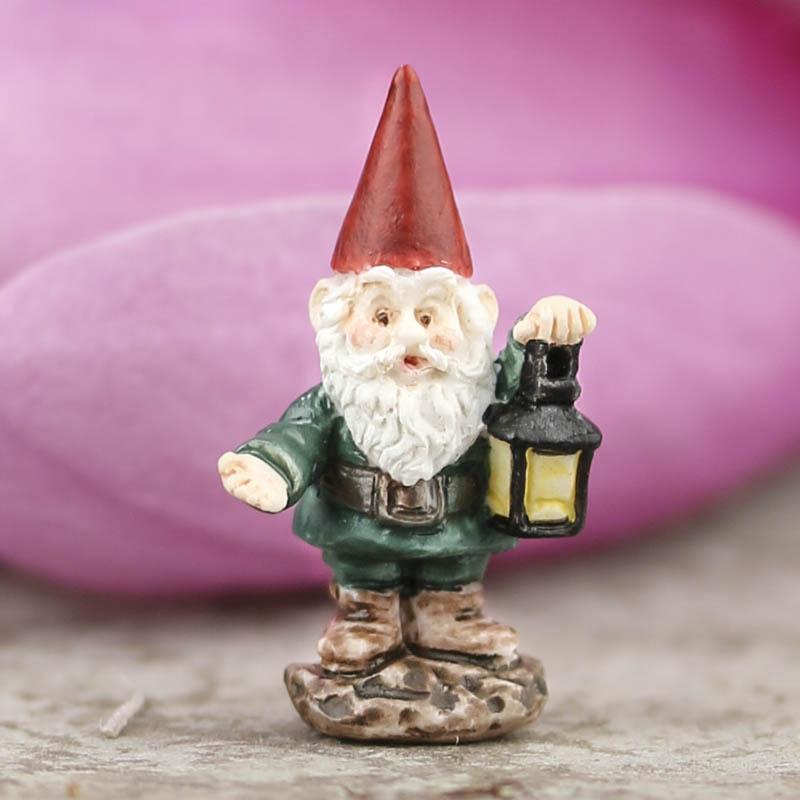 Teeny Tiny Miniature Gnome Fairy Garden Miniatures