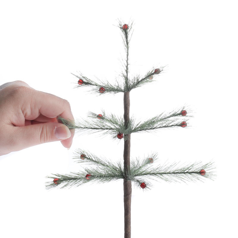 Decorated Feather Tree Trees And Toppers Christmas And