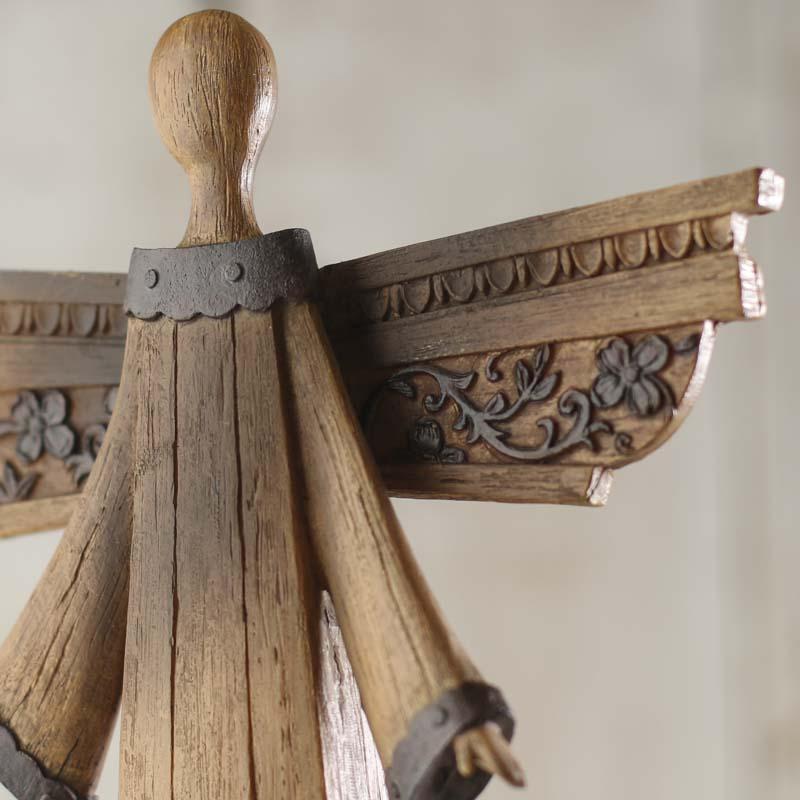 Rustic Wood Look Angel
