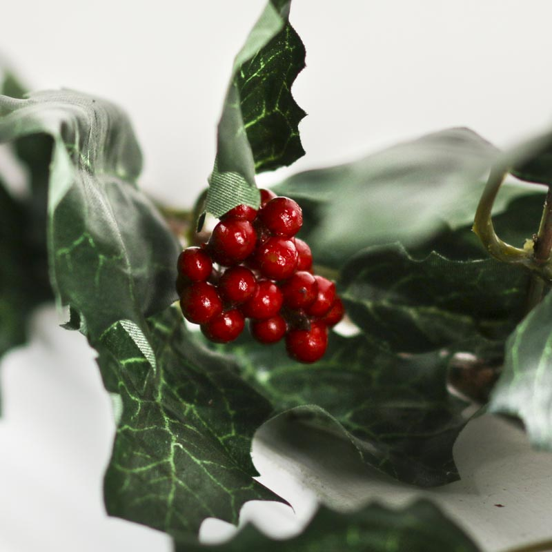 Artificial Holly Ivy Garland Christmas Garlands