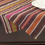 Brown Weave Striped Cloth Dish Towel