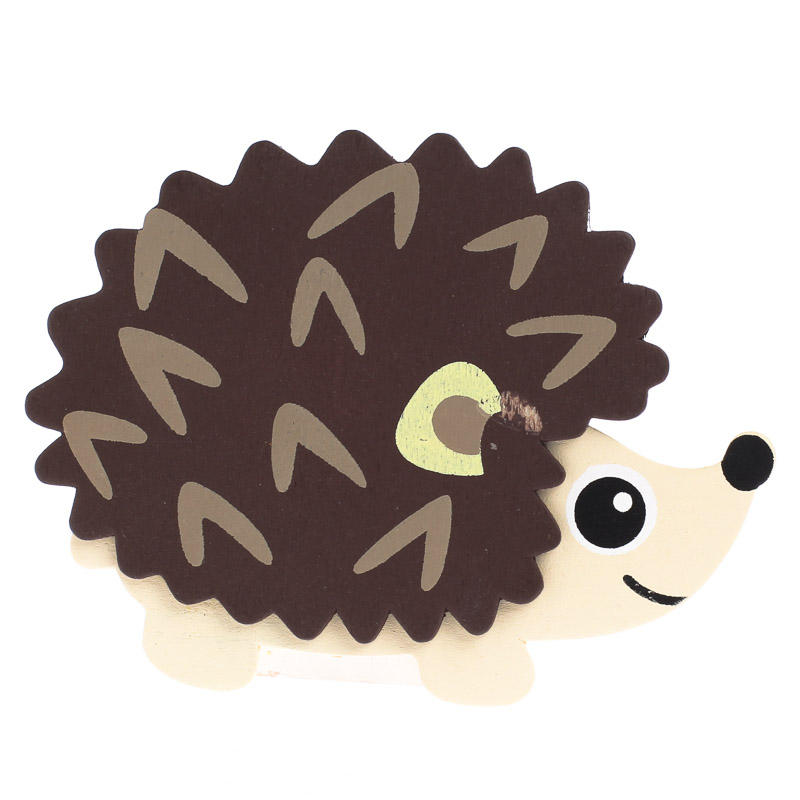 Finished Baby Hedgehog Wood Cutout Wood Cutouts