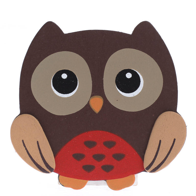 Finished Baby Owl Wood Cutout - Wood Cutouts - Unfinished ...