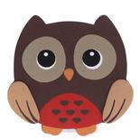 Owl Craft Wood Disc