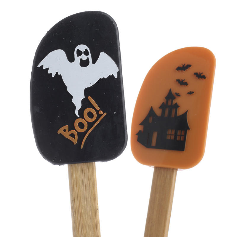 Halloween Silicone And Bamboo Spatula Part 90