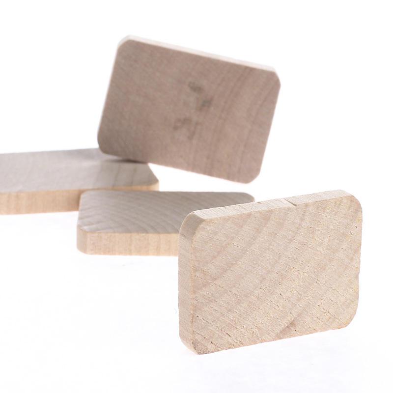 Miniature unfinished wood rectangle cutouts wood cutouts for Wood cutouts for crafts