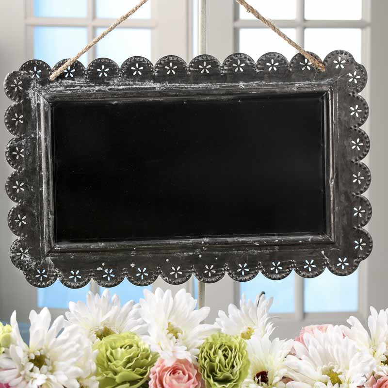 Vintage Inspired Chalkboard Sign Wall Decor Home Decor