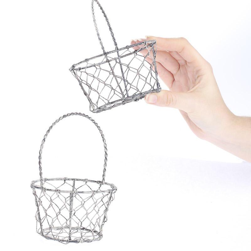 Small Country Chicken Wire Basket - Decorative Accents - Primitive Decor