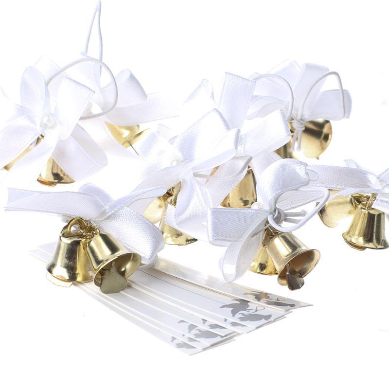 Gold Metal Wedding Bell Favor Decorations Bells Basic Craft Inspiration Wedding Bell Decorations