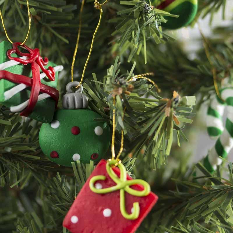Miniature Polymer Clay Christmas Ornaments - Christmas ...