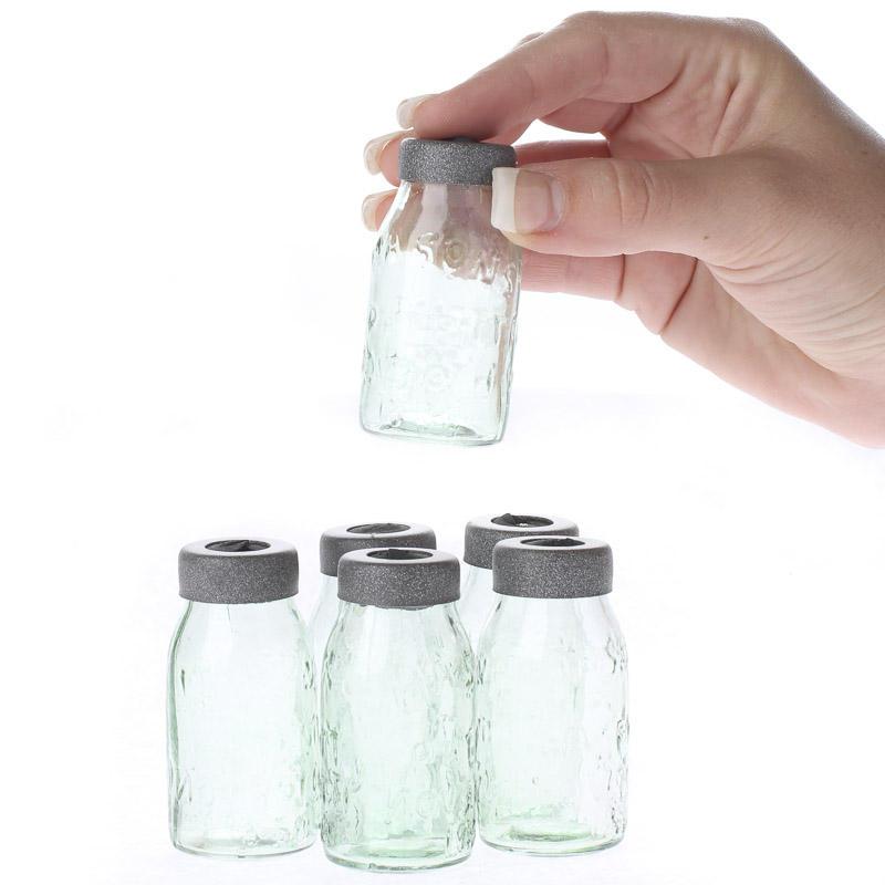 Small Glass Mason Jar Light Covers Lighting Primitive