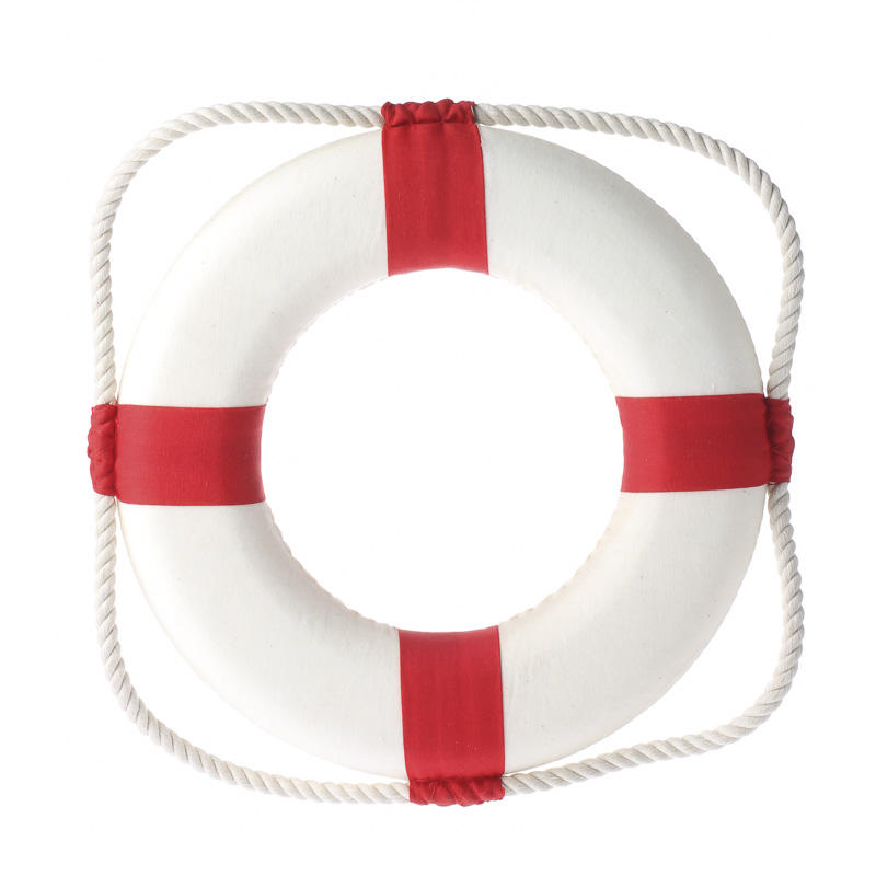 red and white life preserver ring 2 - Western Wedding Supplies