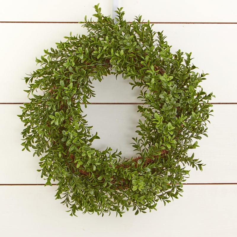 Artificial Boxwood Wreath Wall Decor Home Decor