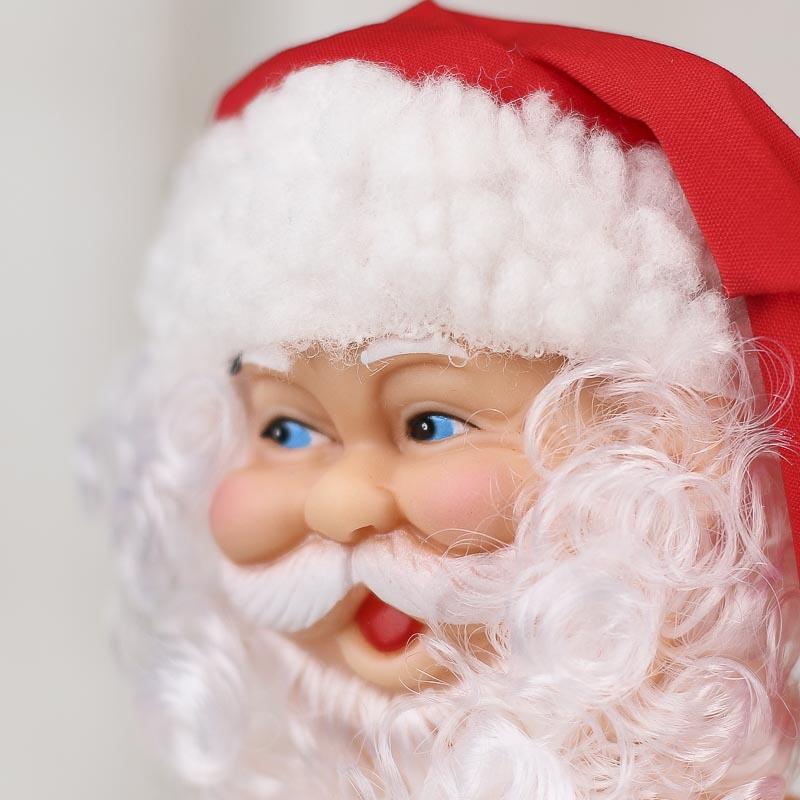 Santa Claus Renuzit Air Freshener Doll Plastic And Vinyl