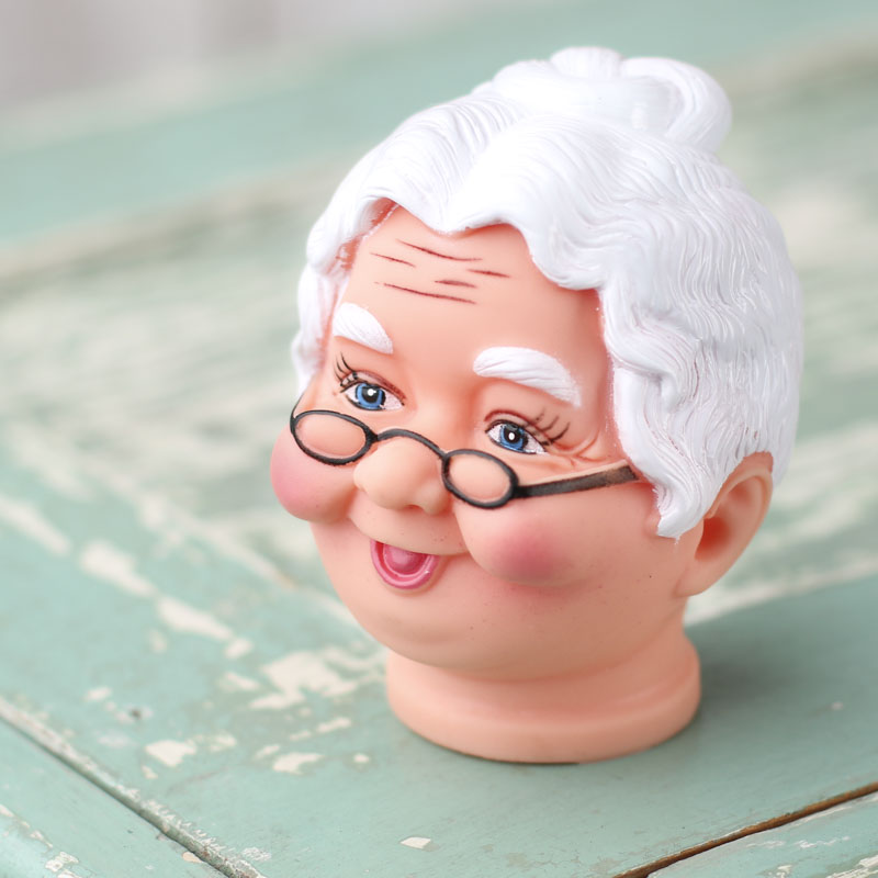Mrs Claus Vinyl Doll Head Plastic And Vinyl Dolls