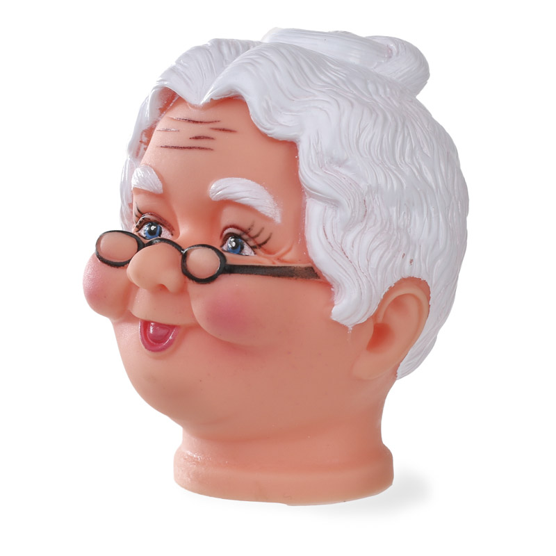 Mrs Claus Vinyl Doll Head Plastic And Vinyl Dolls