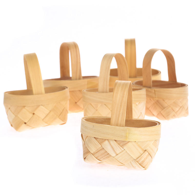 Eco Friendly Chipwood Baskets Favor Baskets Favor