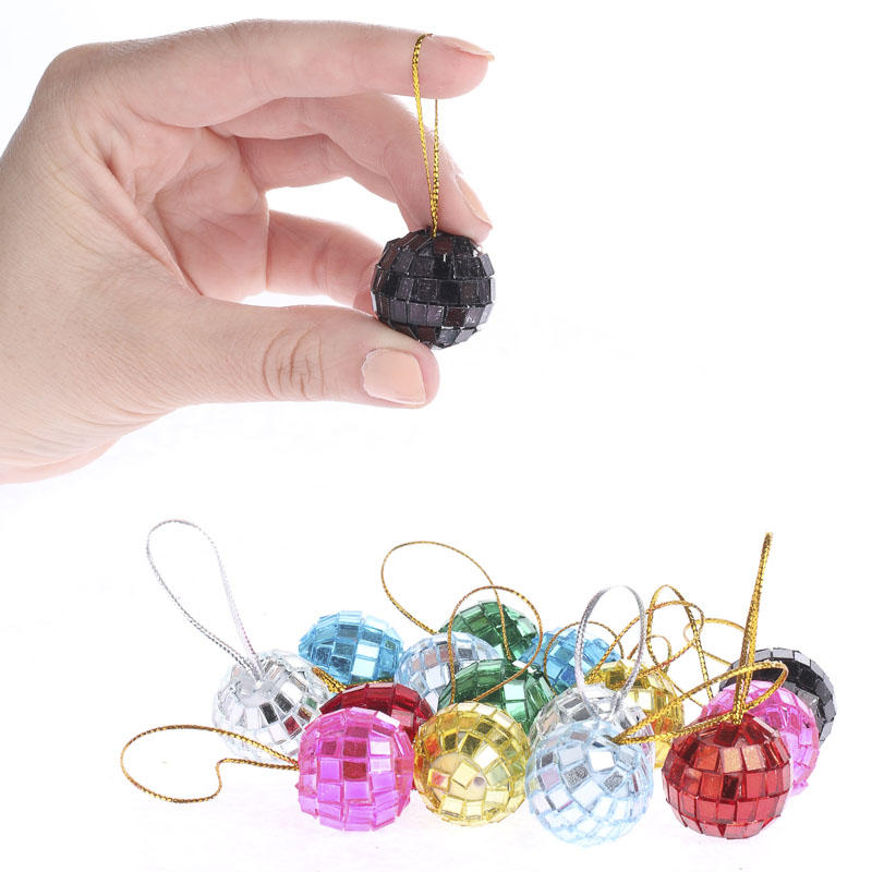Assorted Mini Mirror Ball Ornaments Christmas Ornaments