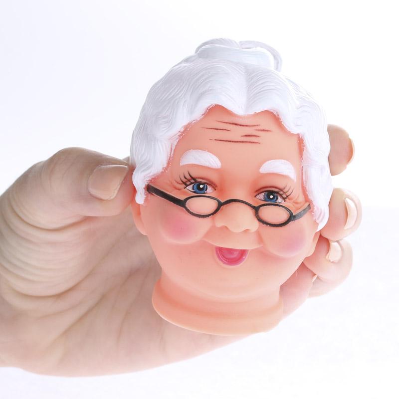 Mrs Claus Vinyl Doll Head Doll Supplies Craft Supplies