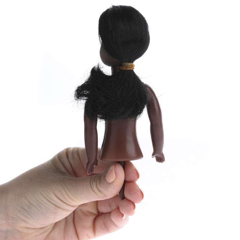 African American Half Doll Body Plastic And Vinyl Dolls