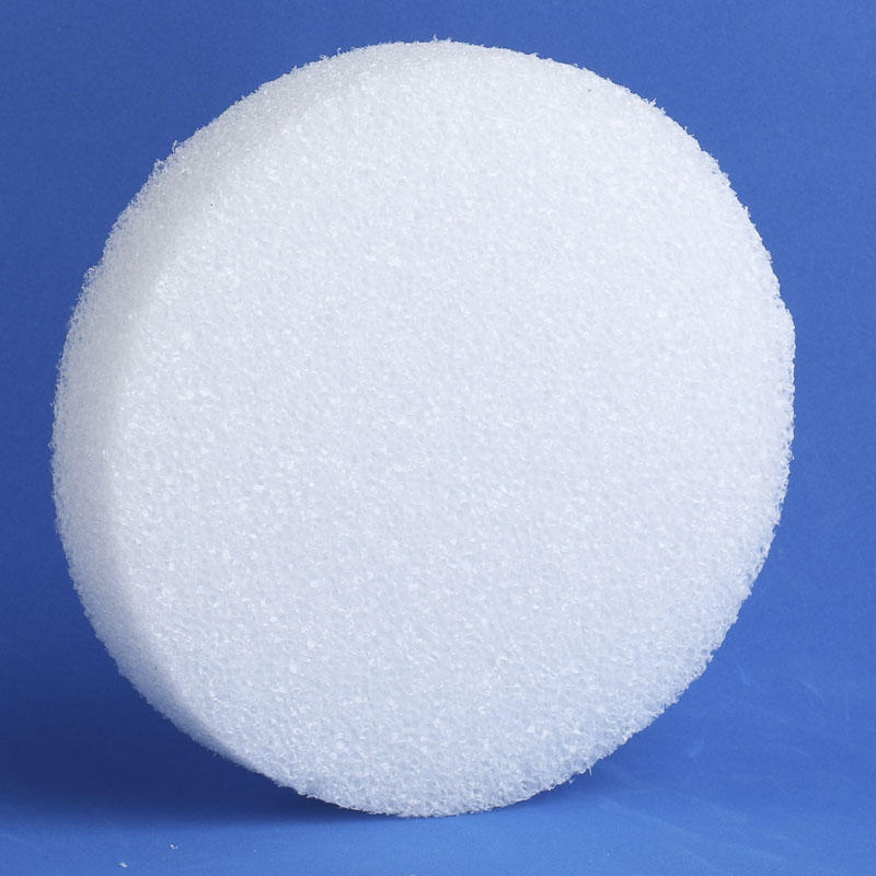 Round White Styrofoam Disc Styrofoam Basic Craft