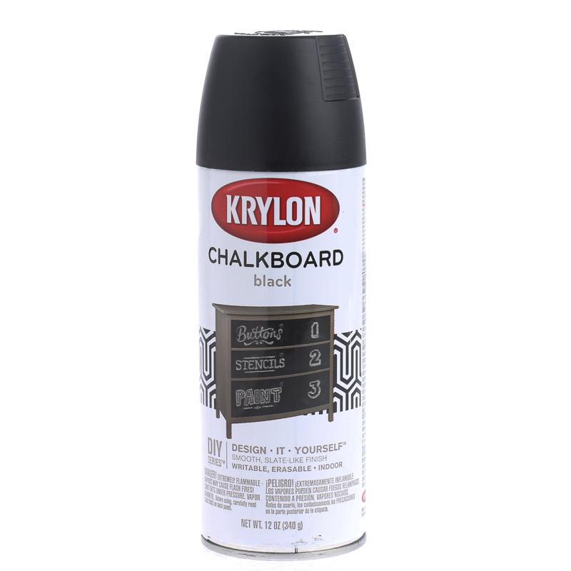 black chalkboard spray paint teachers supplies kids. Black Bedroom Furniture Sets. Home Design Ideas