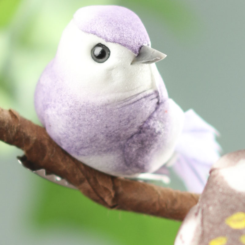 Artificial mushroom birds artificial birds and nests for Fake birds for crafts