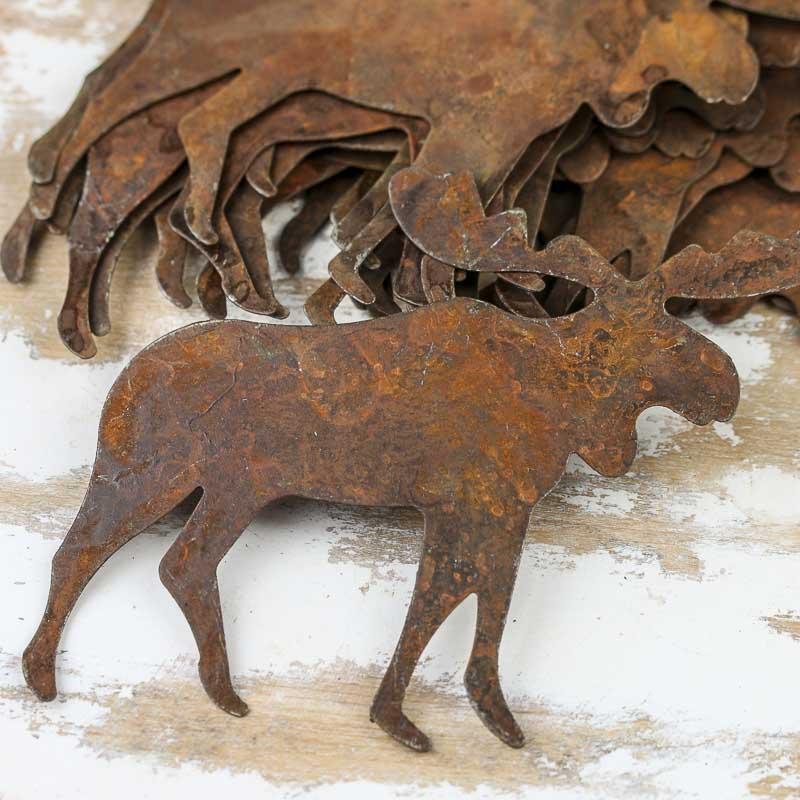 Rusty Tin Moose Cutouts Rusty Tin Cutouts Rusty Tin