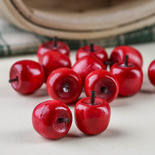 Miniature Stained Wood Apples