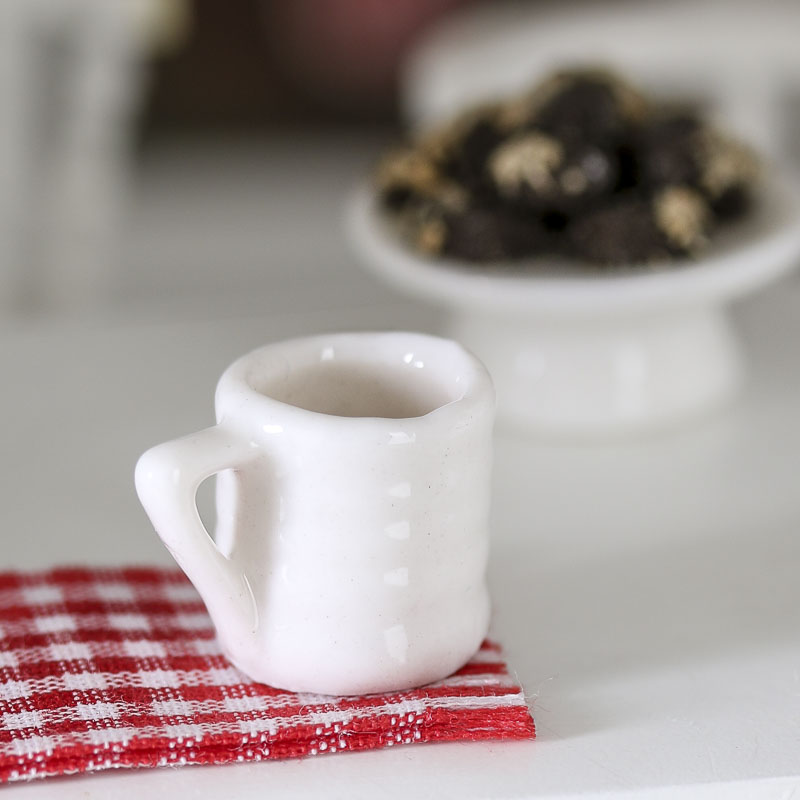 Dollhouse Miniature Porcelain Coffee Cup Kitchen