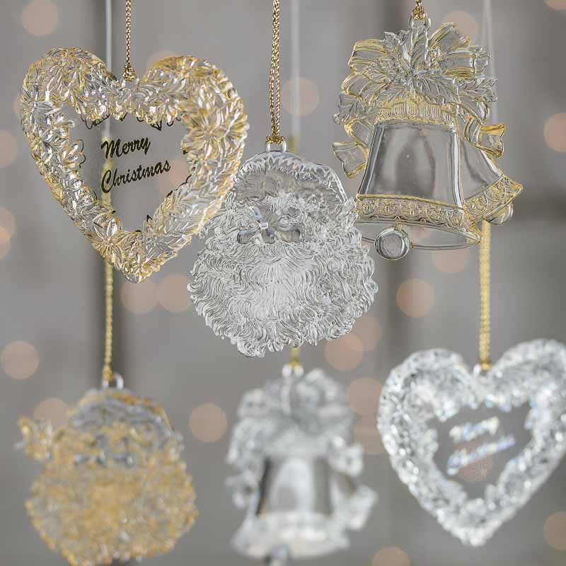 Clear Acrylic Christmas Ornament - Christmas Ornaments ...