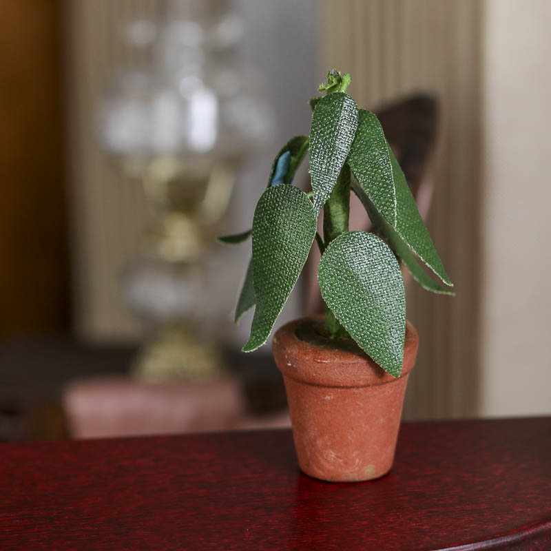 Dollhouse Miniature Potted Plant Living Room Miniatures