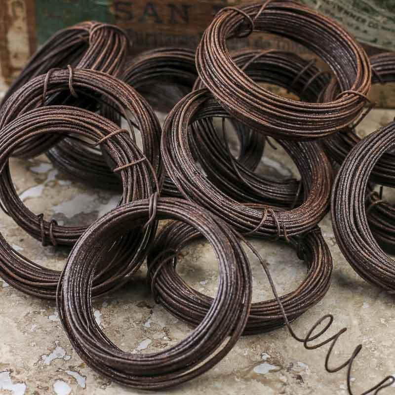 20 Gauge Bulk Rusty Tin Wire - Wire - Rope - String - Basic Craft ...