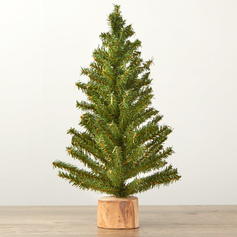 Small artificial christmas tree table decor home