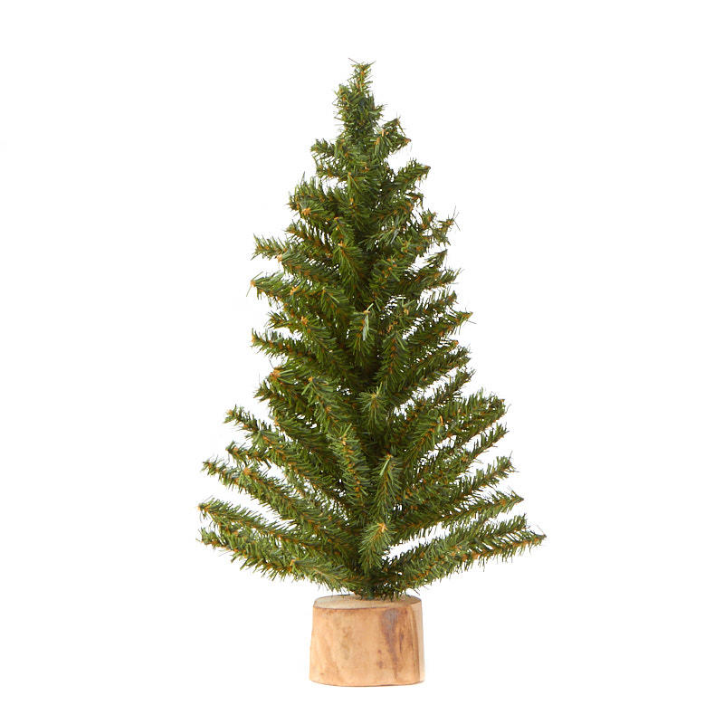 compare size - Mini Artificial Christmas Trees