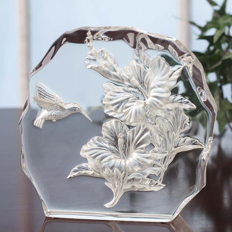 Waking beauty hummingbird table decoration table decor for Hummingbird decor