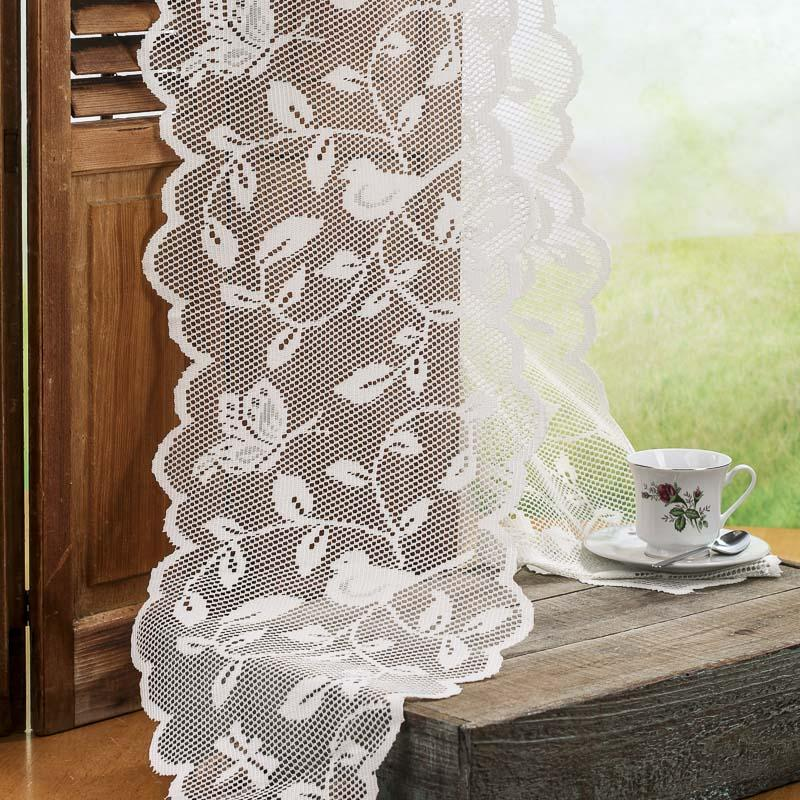 Branch runner Lace wedding Bird Ivory Runner Doily Table and table ivory