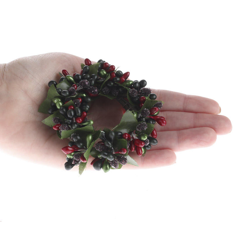 Icy Holiday Pip Berry Candle Ring - Candles and ...