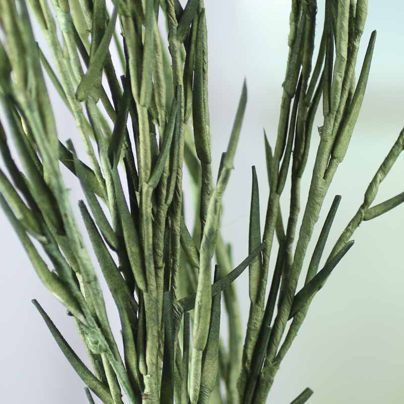Artificial grass spray artificial greenery floral for Faux grass for crafts