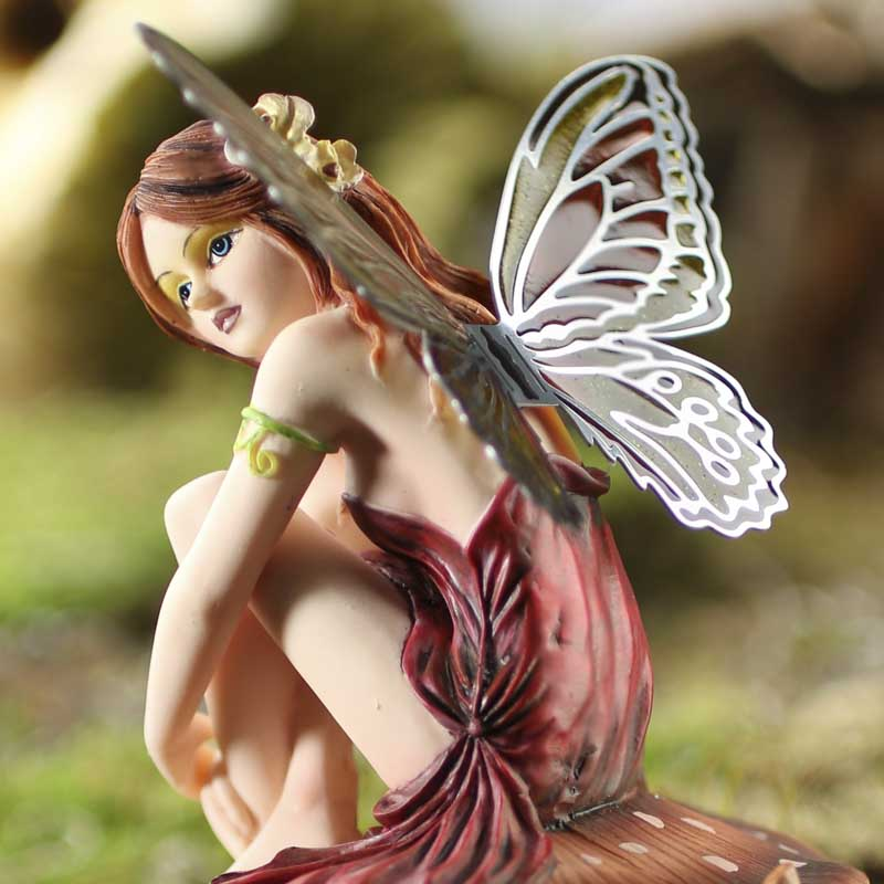 Miniature Dalia Butterfly Fairy - Table Decor - Home Decor