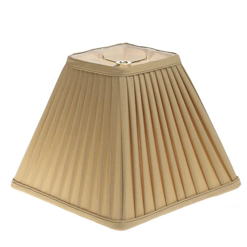 Taupe Cloth Lamp Shade Lighting Primitive Decor