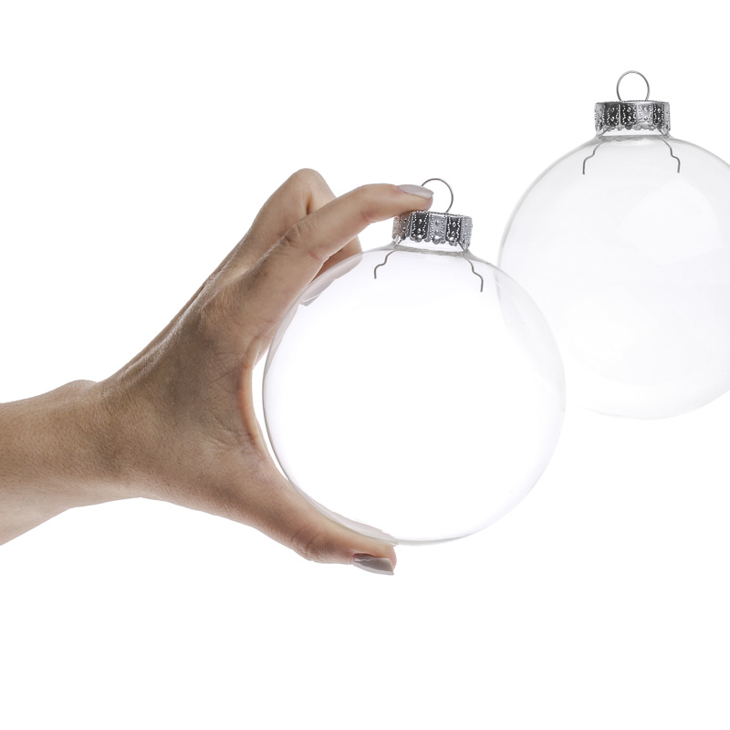 To   Clear Glass Ornaments For Crafts