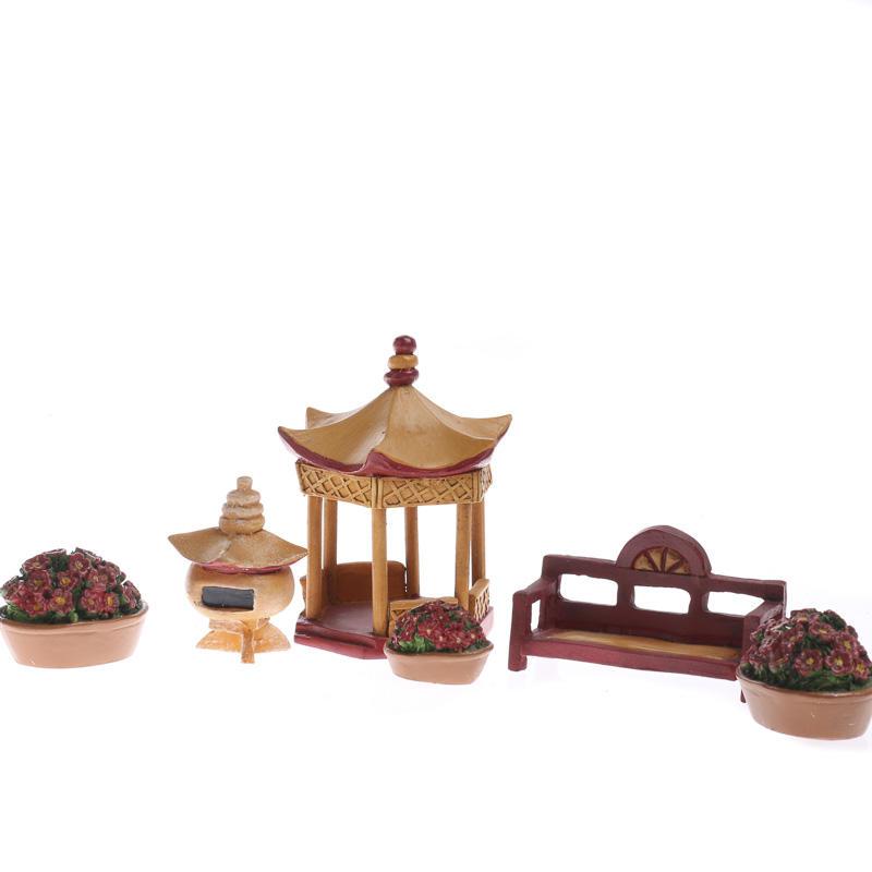 Miniature zenscape garden set on sale home decor for Garden accessories sale