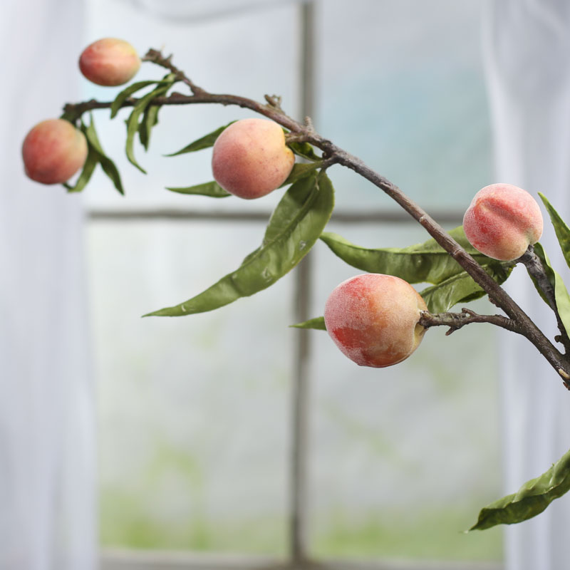 Realistic artificial peach tree branch from winward floral for Peach tree designs