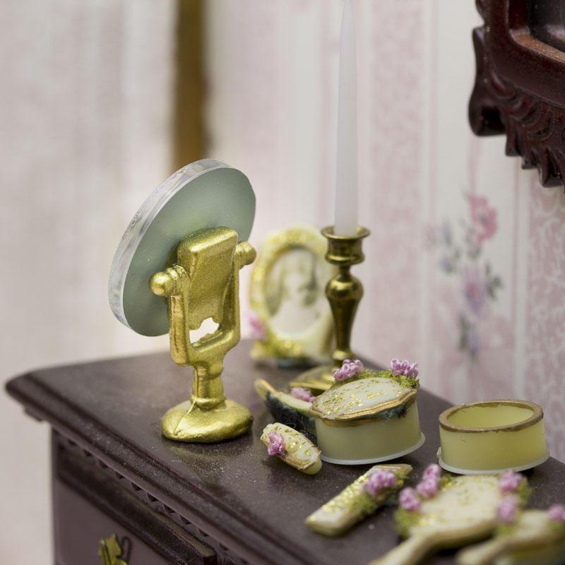 Dollhouse Miniature Vanity Mirror Bathroom Amp Laundry