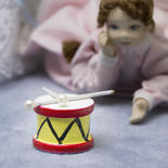 Dollhouse Miniature Toy Drum