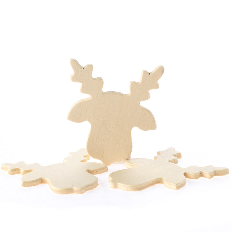 Unfinished wood reindeer cutouts wood cutouts for Wood cutouts for crafts