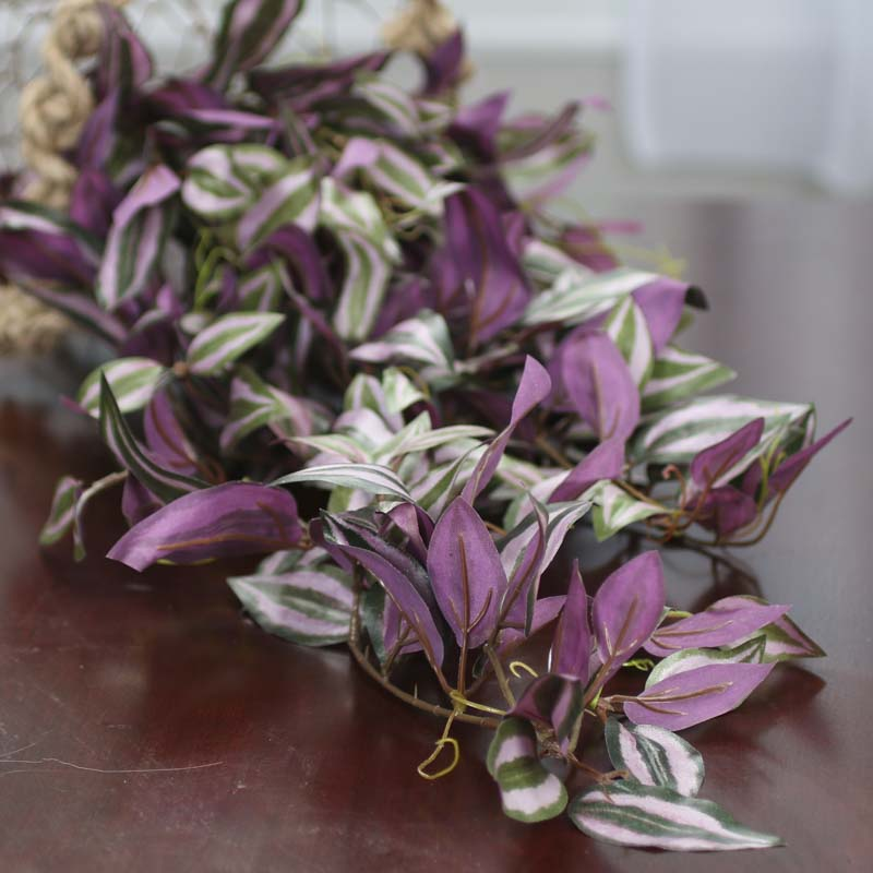 Artificial Wandering Jew Plant Bush Bushes And Bouquets