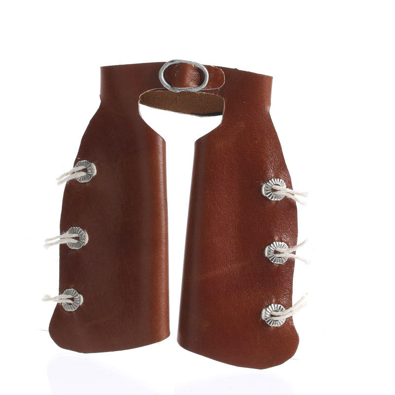 Handcrafted Miniature Leather Cowboy Chaps